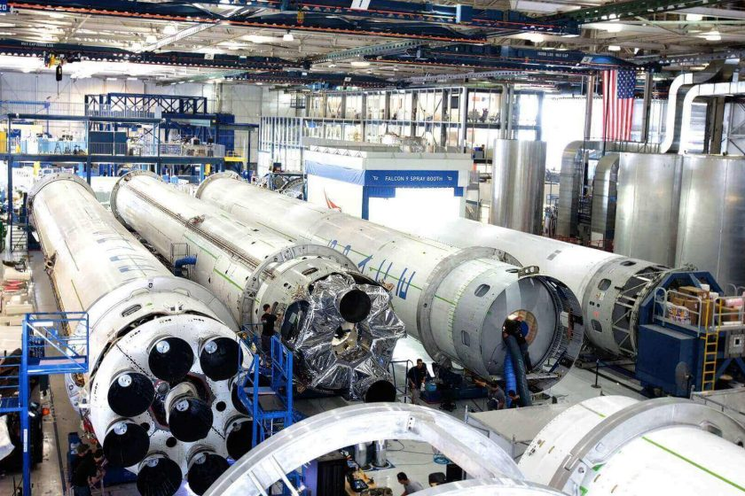 Manufacturing hardware for Space Rocket missile New Design Ready